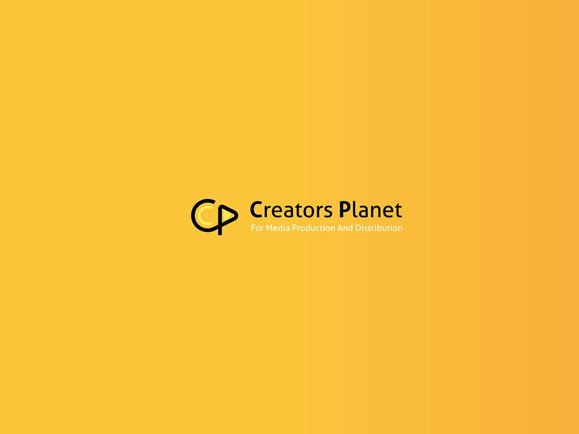 تصميم الشعار الخاص بـ Creators Planet