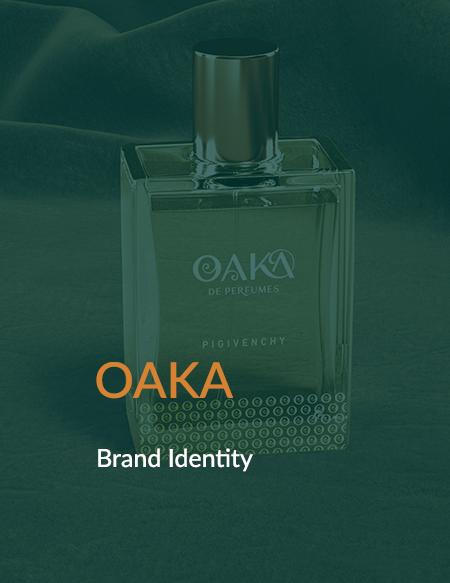 تصميم الهوية البصرية لـOAKA